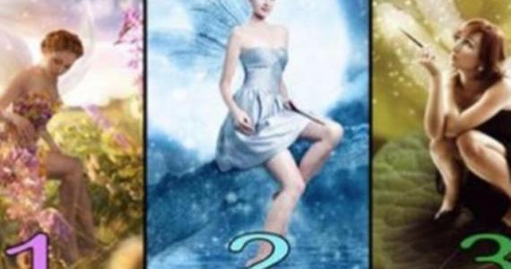 PICK A FAIRY YOU LIKE THE MOST: It reveals how other people see you