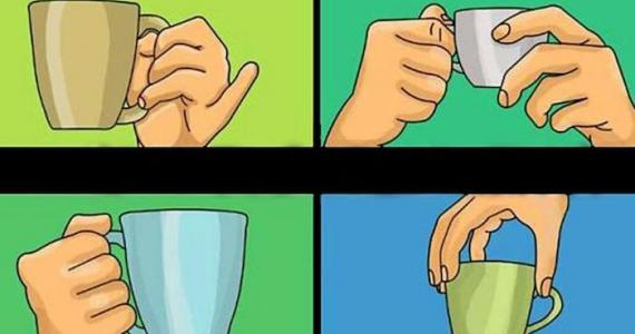 How do you hold a cup? You won't believe what it says about you!