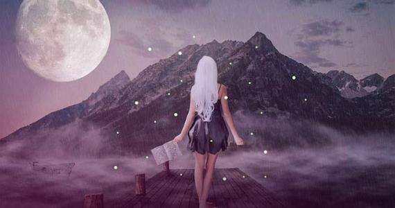 What does it mean if you were born during the full Moon?