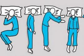 The way you sleep reveals your character
