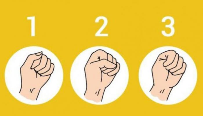 The quickest personality test: Clench your fist and find out what your biggest flaw is
