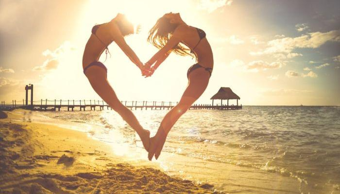 Take them to the beach: Libra is all dressed up, Scorpio interested in making love in the sand...